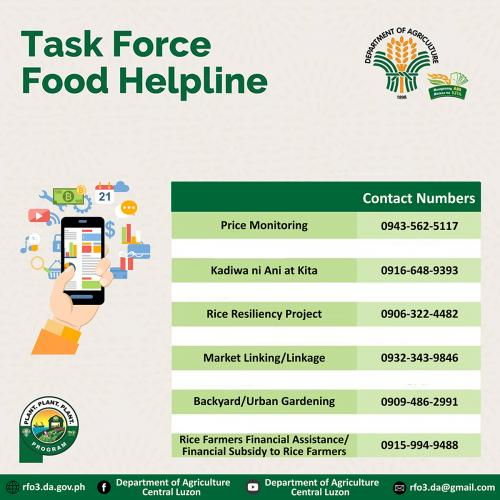 Task Force Food Help Line